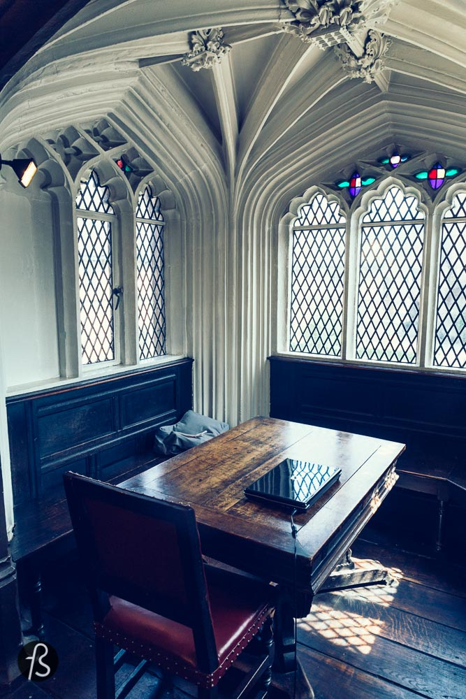 Karl Marx's favourite place to read at Chetham.